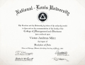 Bachelor Degree National-Louis University Management and Marketing Business Administration