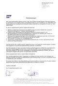 Reference Letter - SAP Germany